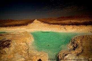 Iran - slana puščava