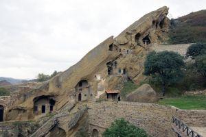 Georgian orthodox monastery David Gareja