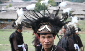 This image has an empty alt attribute; its file name is adi-tribe-warrior-central-arunachal-pradesh-tour-of-tribes-1.jpg